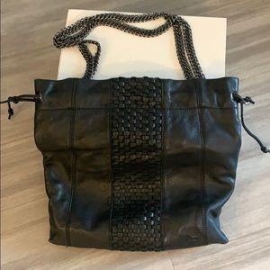 Linea Pelle Black Handbag